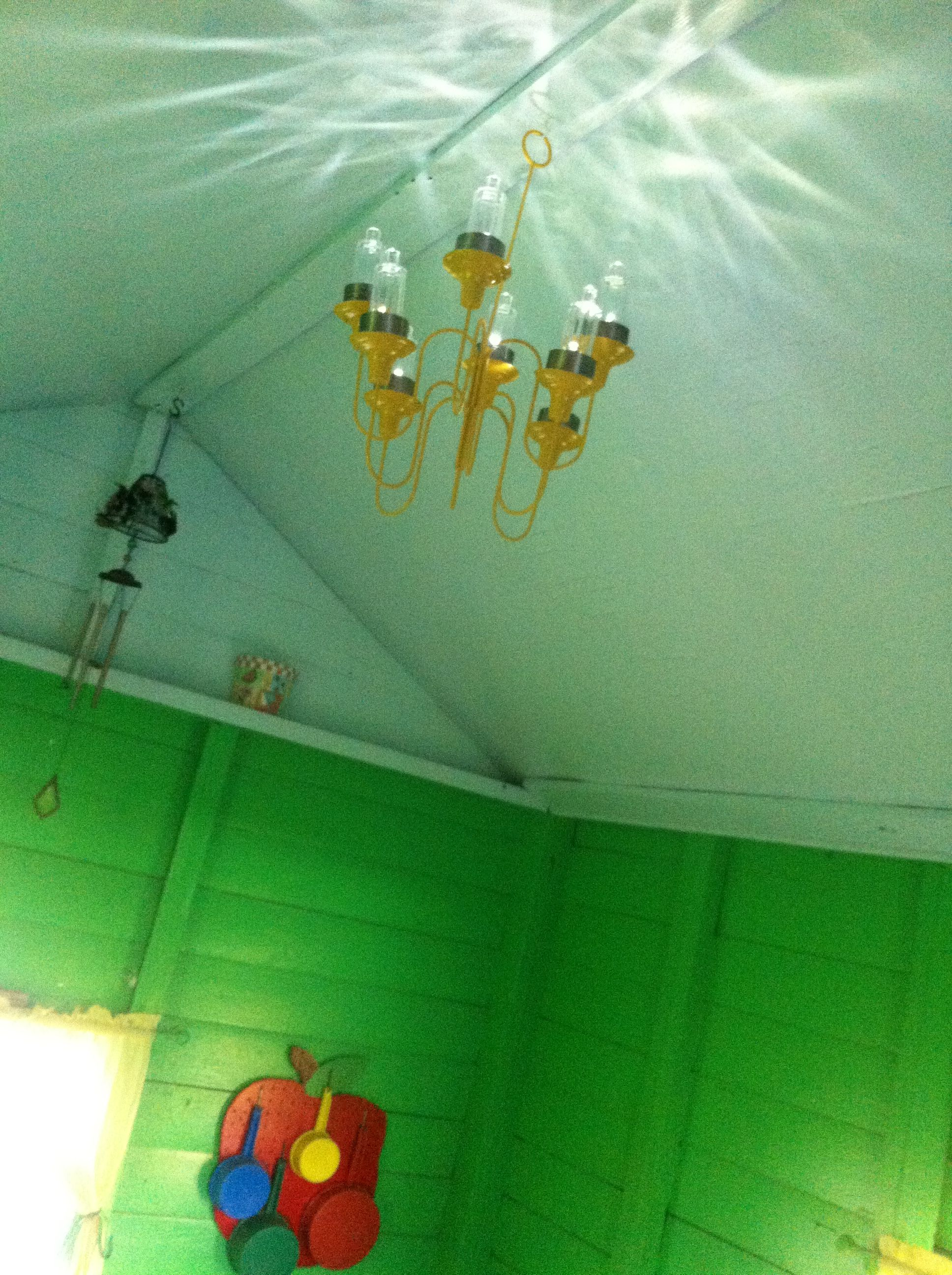 Playhouse chandelier with solar lights | Kiddos | Solar