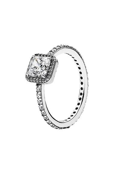 ea95ded43 PANDORA 'Timeless Elegance' Ring available at #Nordstrom | fatima ...
