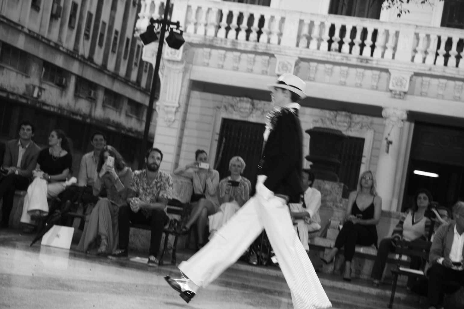 The Chanel Cruise Docks in Havana | wmag.com