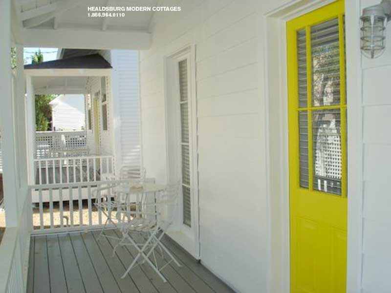 Healdsburg Modern Cottages Modern Cottage Cottage Homes Bright Front Doors