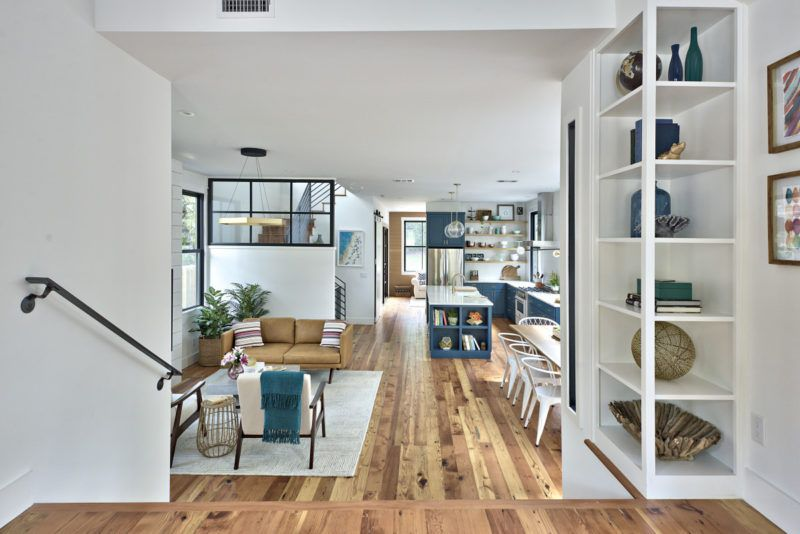 Turning A Tiny Cottage Into A TwoStory Modern Farmhouse Amazing Remodeling Contractors Austin Tx Style Design