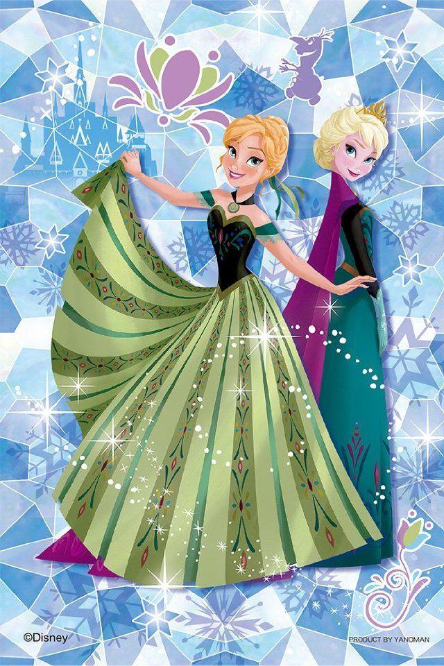 ディズニー プリンセスのアナ エルサ イラストアイデア エルサ