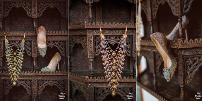 Jewellery - The Wedding Jewellery! Photos, Hindu Culture, Beige Color, Antique Jewellery, Pearl Jewellery, Wedding pictures, images, vendor credits - The Wedding Salad, WeddingPlz