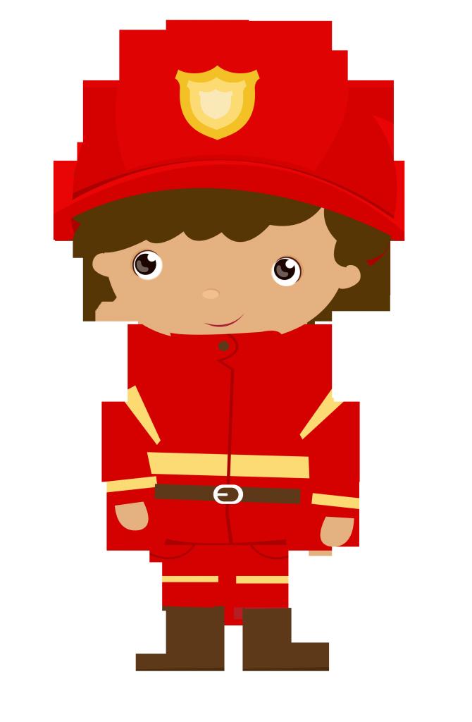 Photo By Ckren Firefighter Logo Cartoon Clip Art Firefighter