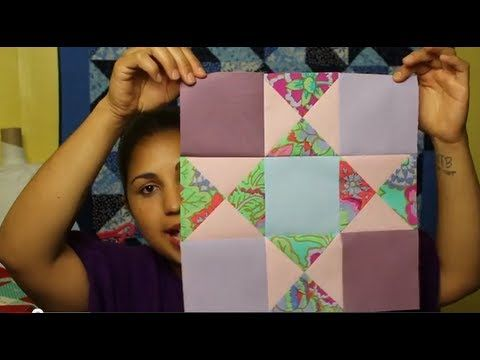How To Make An Ohio Star Block Block 11 Of 12 Video Quilt Along Youtube Quilt Block Tutorial Quilting Videos Quilting For Beginners