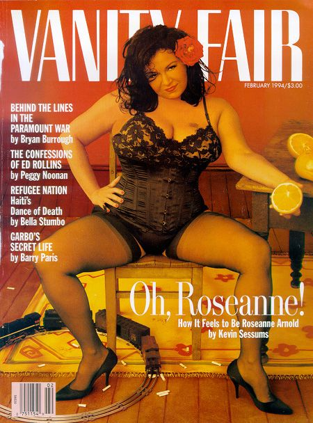 nude Roseanne barr