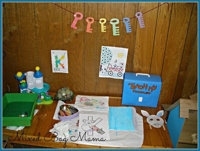 Mixed Bag Mama: Toddler Discovery Time: Starting Homeschool...Kind Of