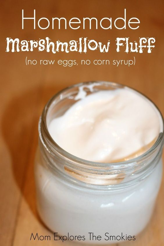 Marshmallow Creme Recipe No Corn Syrup East Tn Family Fun Recipe Fluff Recipe Marshmallow Fluff Recipes Homemade Marshmallow Fluff
