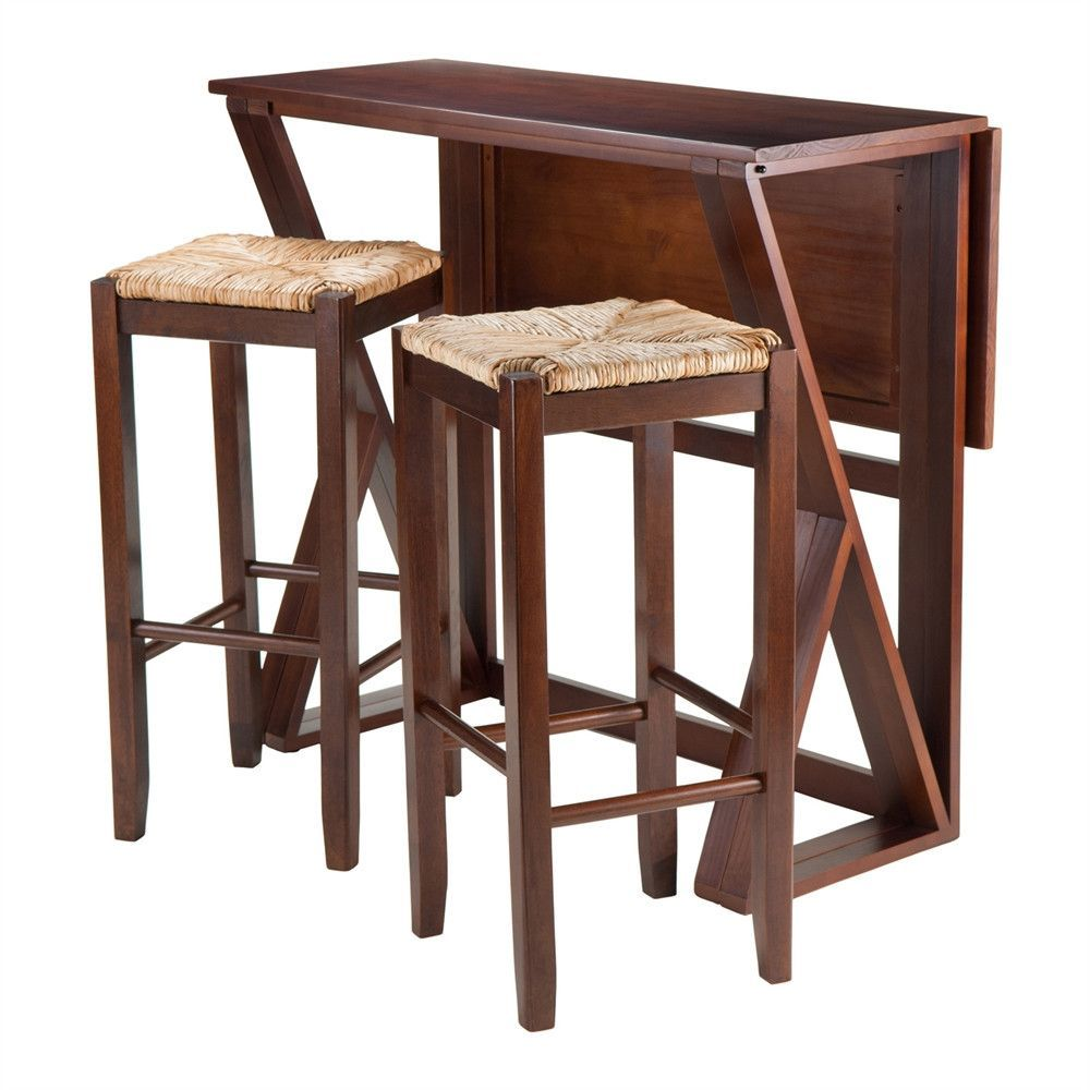 f0e71e81679 Harrington 3-Pc Drop Leaf High Table
