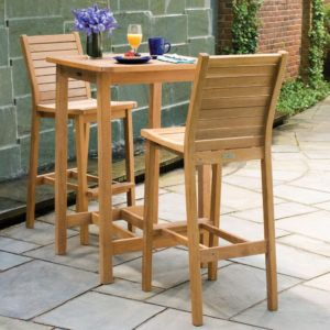 Outdoor Wood Bistro Table Set & Outdoor Wood Bistro Table Set | http://freshslots.info | Pinterest ...