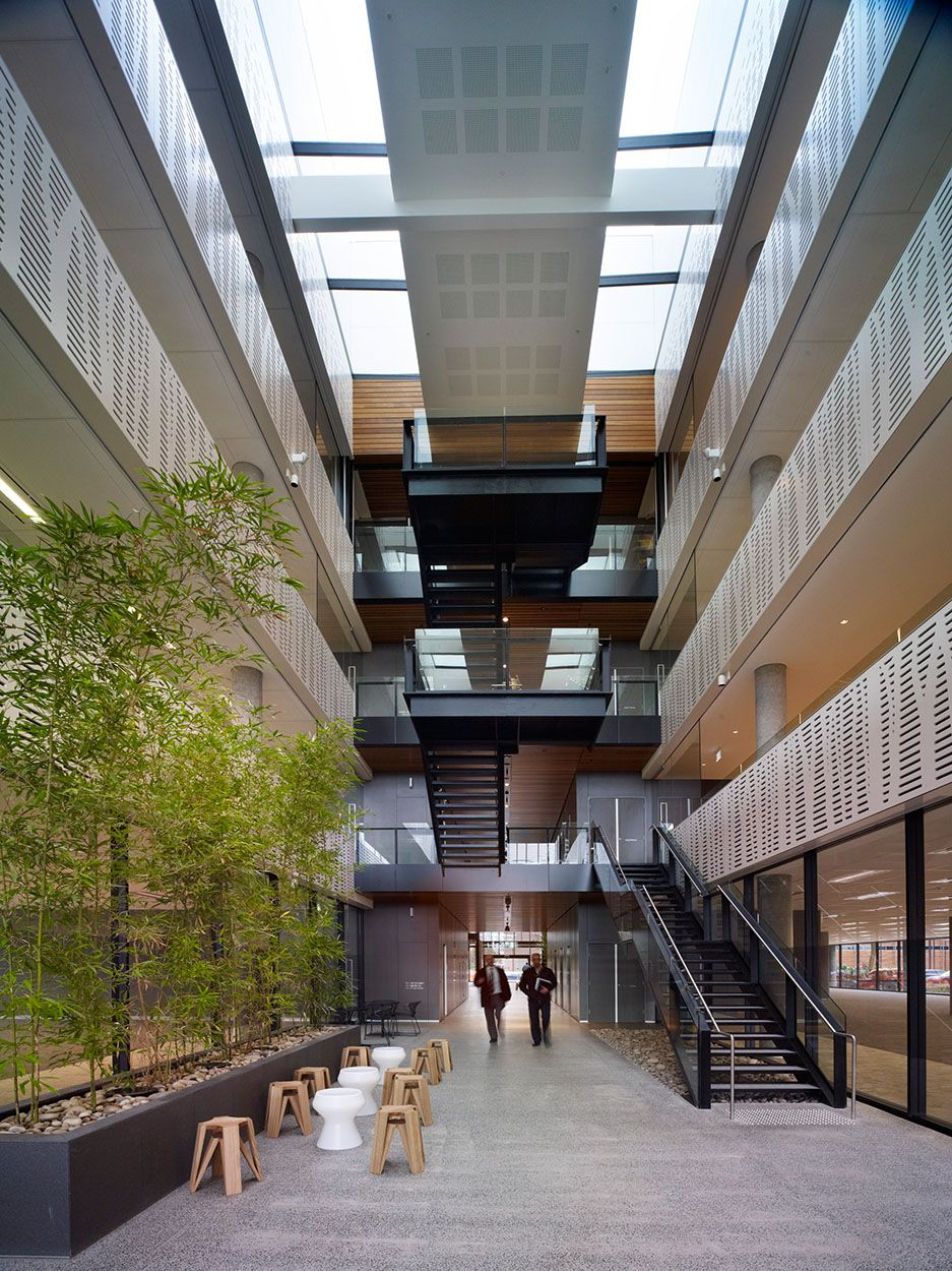 Enterprise 1 Bates Smart Atrium Design Interior Architecture Commercial Interiors