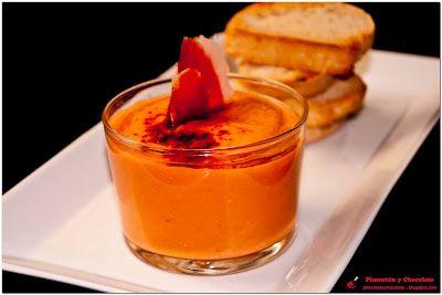 Pimentón y Chocolate. Mi mejor Blog de Recetas de Cocina.: Salmorejo