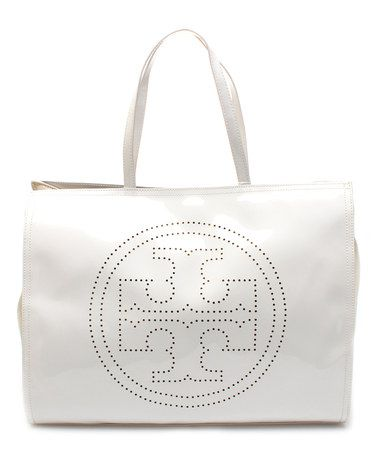 zulily is great example tory burch on sale 209 ivory logo perf