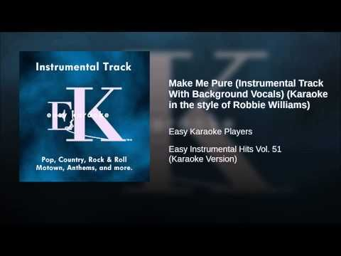 Make Me Pure (Instrumental Track With Background Vocals