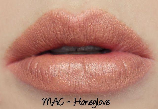 Ongebruikt MAC Honeylove Lipstick Swatches & Review | Neutral lipstick GP-27