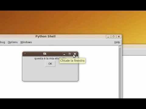 Tutorial 51 - Imparare Python - #Corso #Grafiche #Imparare #ITA #Italiano #Lezione #Lezioni #Librerie #Linguaggio #Programma #Programmare #Programmazione #Python #Tkinter #Tutorial #Video http://wp.me/p7r4xK-M8