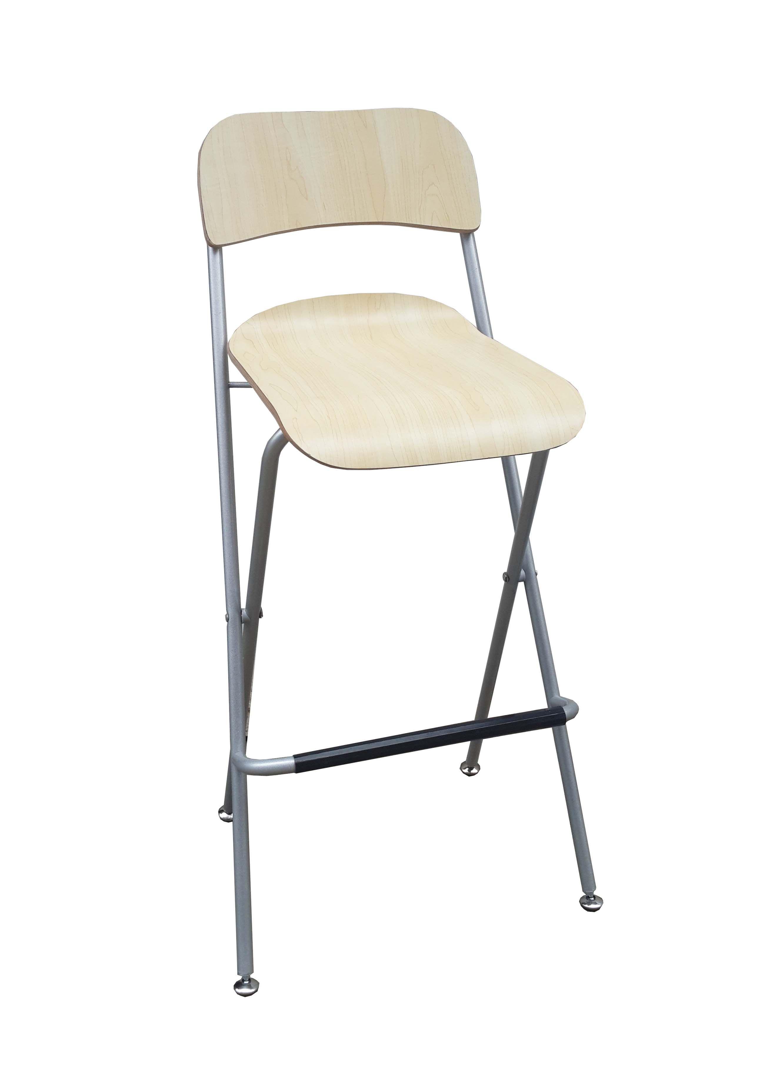 Bar Chair Bistro High Chair High Chair Wood Metal Chair Folding