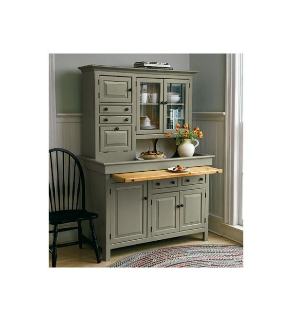 Large Stained Finish Conestoga Cupboard (With images ...