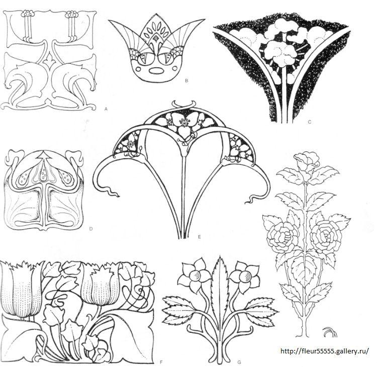 95) Gallery.ru / Фото #152 - 96 - Fleur55555 | * Art Nouveau, Art ...