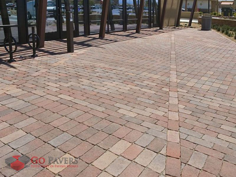 Orco S Aqua Bric Collection Is A Set Of Environmentally Friendly Permeable Pavers That Can Filter Stormwater For Pollutants And H Permeable Pavers Pavers Patio