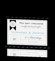 chique-verlovingskaart-verloofd-zwart-wit