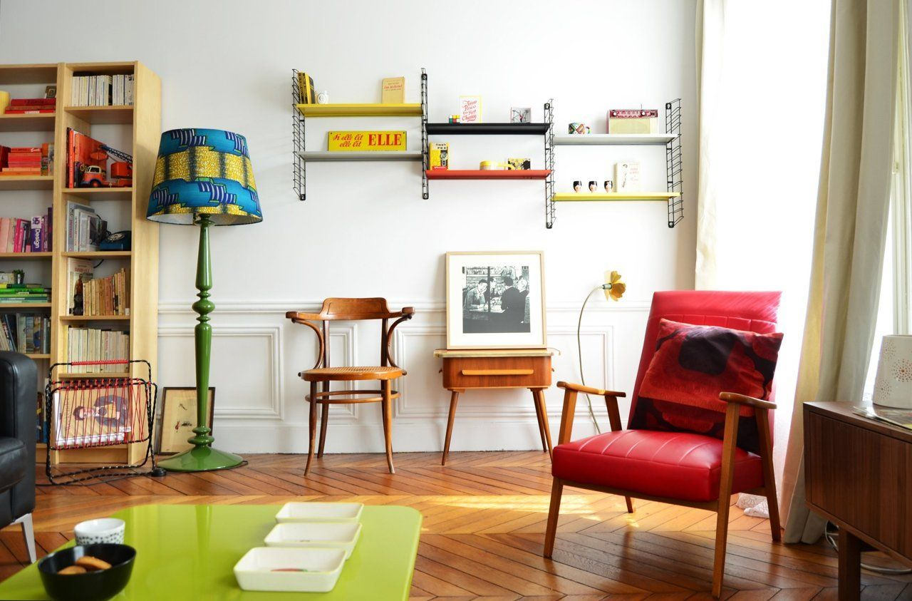 Salon Vintage Paris Visite Un Appartement éclectique Home Decor House