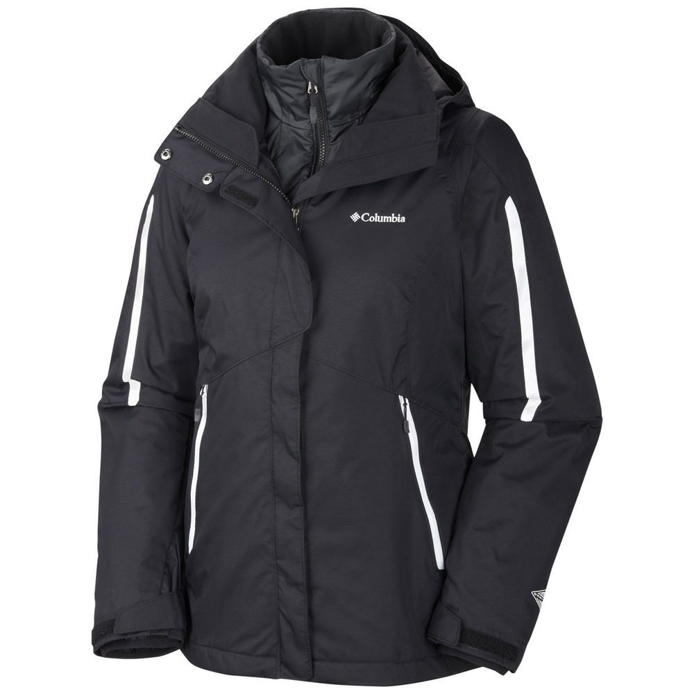 "New Womens Columbia /""Bugaboo/"" 3in1 Omni-Heat Interchange Winter Jacket Parka"