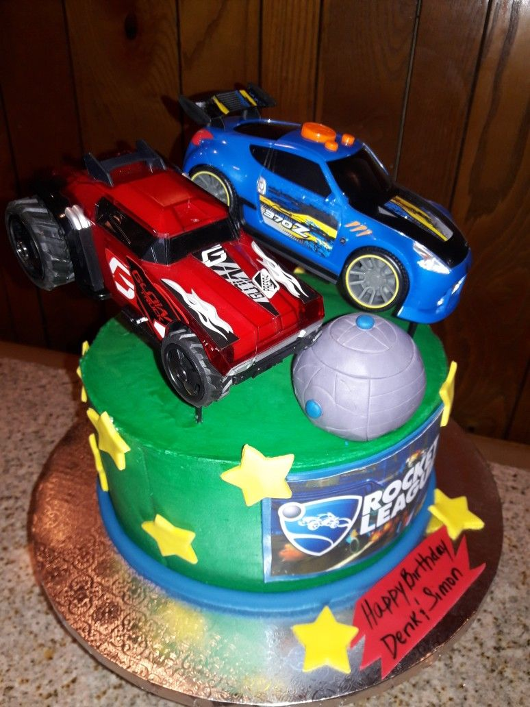 Rocket League In 2019 Cute Cakes 21st Birthday Birthday