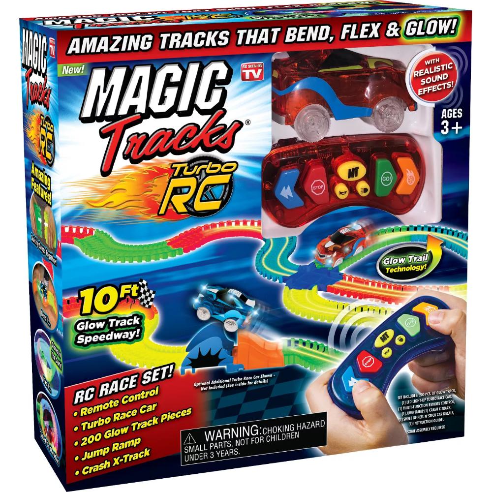 As Seen on TV Magic Tracks Radio Control Toy Vehicles
