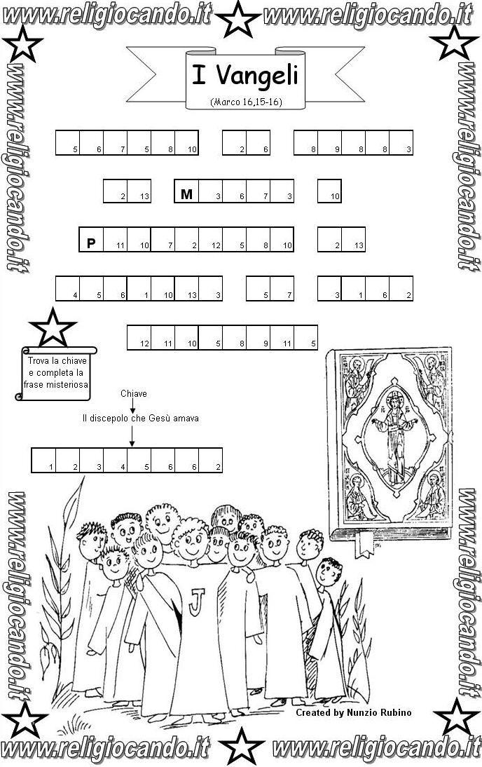 Storia scuola primaria cerca con google la bibbia for Cruciverba per bambini catechismo