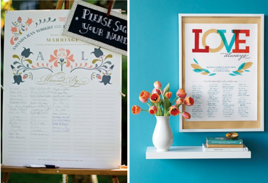 Guest Books Worth Hanging Wedding Certificatemarriage