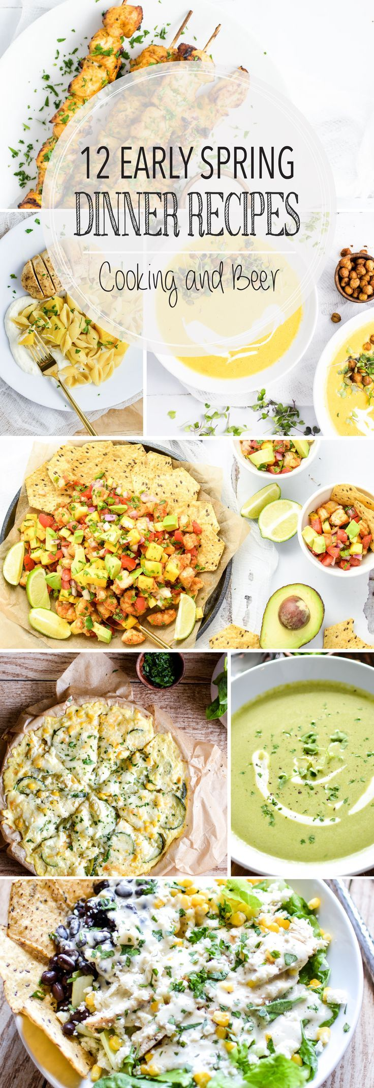 12 Early Spring Dinner Recipes Healthy spring recipes