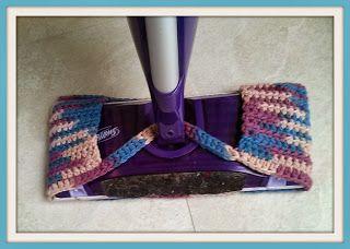 Costa S Crafty Corner Project Wet Jet Mop Cover Diy Crochet Patterns Crochet Dishcloths Swiffer Wet Jet