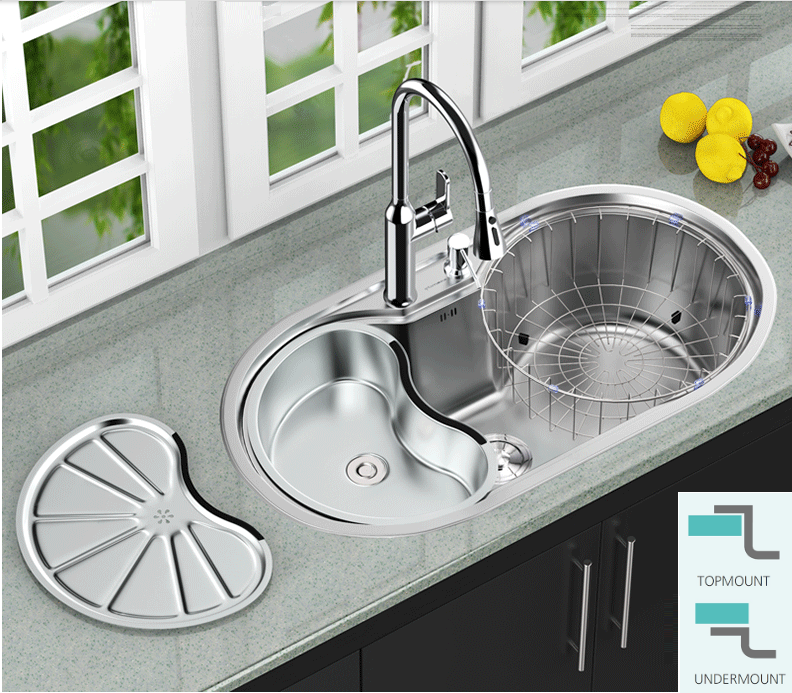 Pin By Vida Casey On Kitchen Sink Stainless Steel Kitchen Sink Round Kitchen Sink Hot Tub Time Machine