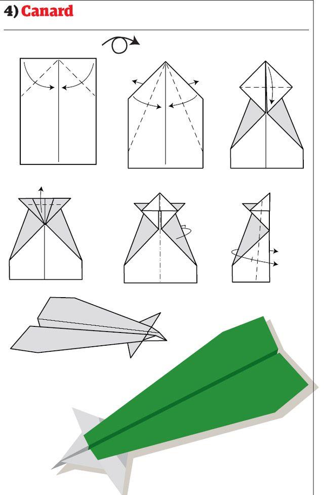 Paper Airplane Plans Aviones De Papel Como Hacer Un Avion Origami Paso A Paso