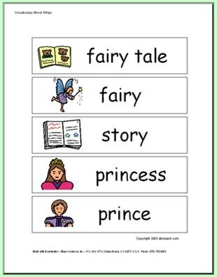 Tale Theme Matching and Worksheets