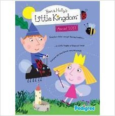 BEN AND HOLLY'S LITTLE KINGDOM ANNUAL 2012 BRAND NEW £3.95+FREE POSTAGE