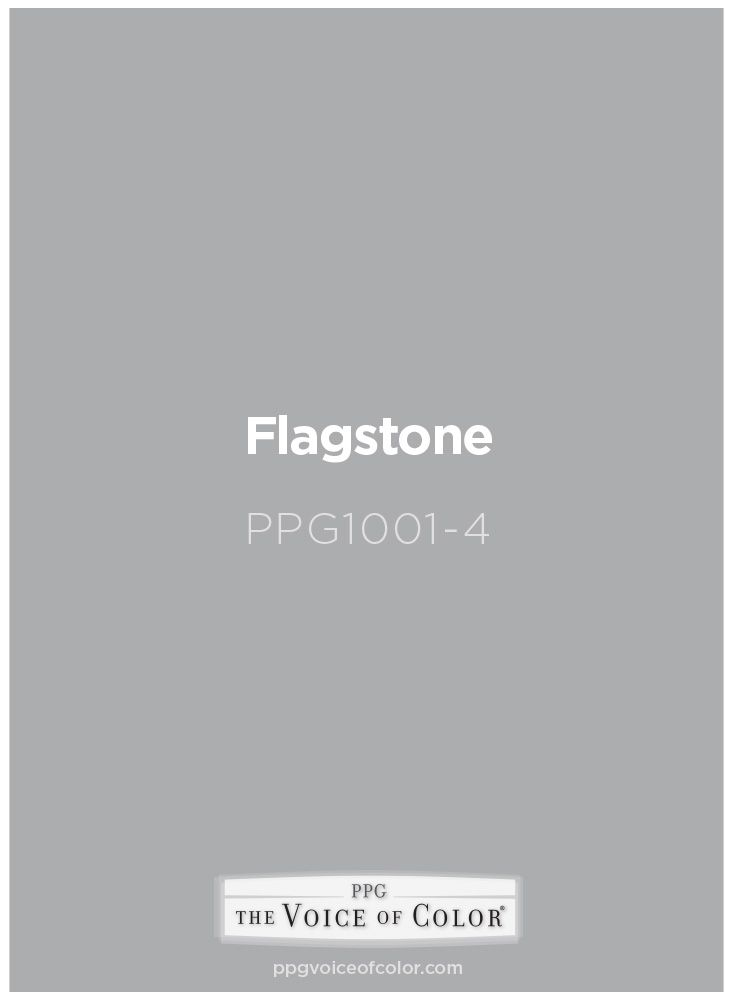 Bluish Gray Paint Color Flagstone PPG1001 4