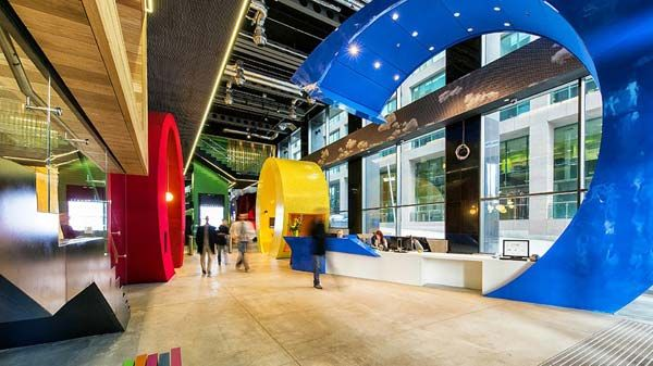 Google Dublin Headquarters Case Studies Google Office Campus