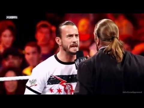 WWE Triple H Vs CM Punk Night Of Champions 2011 Promo *HD*