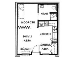 Designing Garage Studio Apartment Layout Houzz BUNGALOW