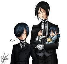 I will take requests  Reader x Black butler So there will be Ciel