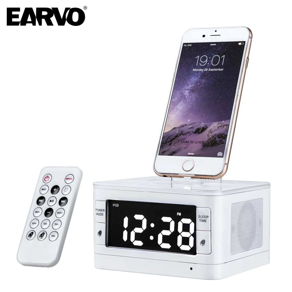T7 Premium Portable Loudspeaker Mini Music Alarm Font B Speaker B Font For Apple Font B Ipod B Font Touch Alarm Clock Iphone Ipod Speakers Iphone