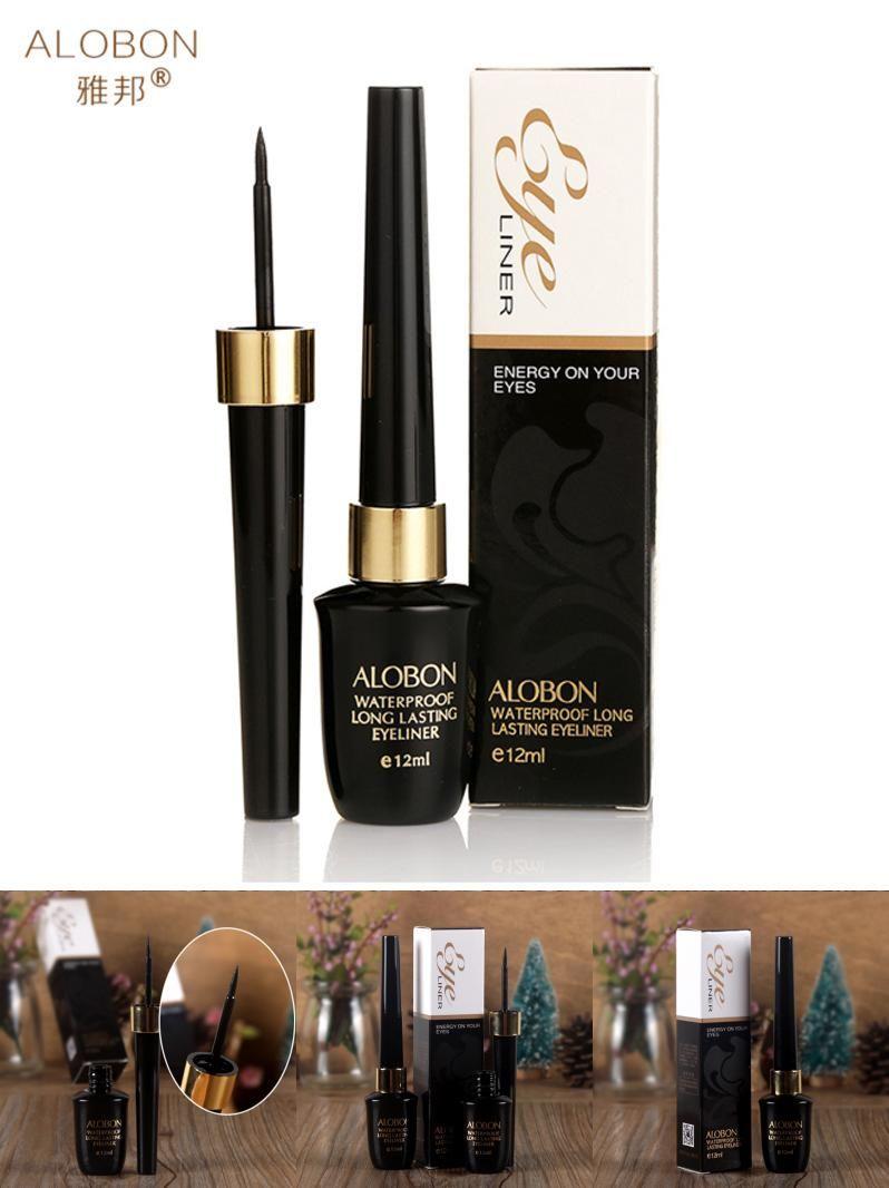 [Visit to Buy] 12ml Eyeliner Liquid Black Eyeliner Waterproof Liquid Make Up Beauty Comestics fast dry teachnology charming eyes #Advertisement