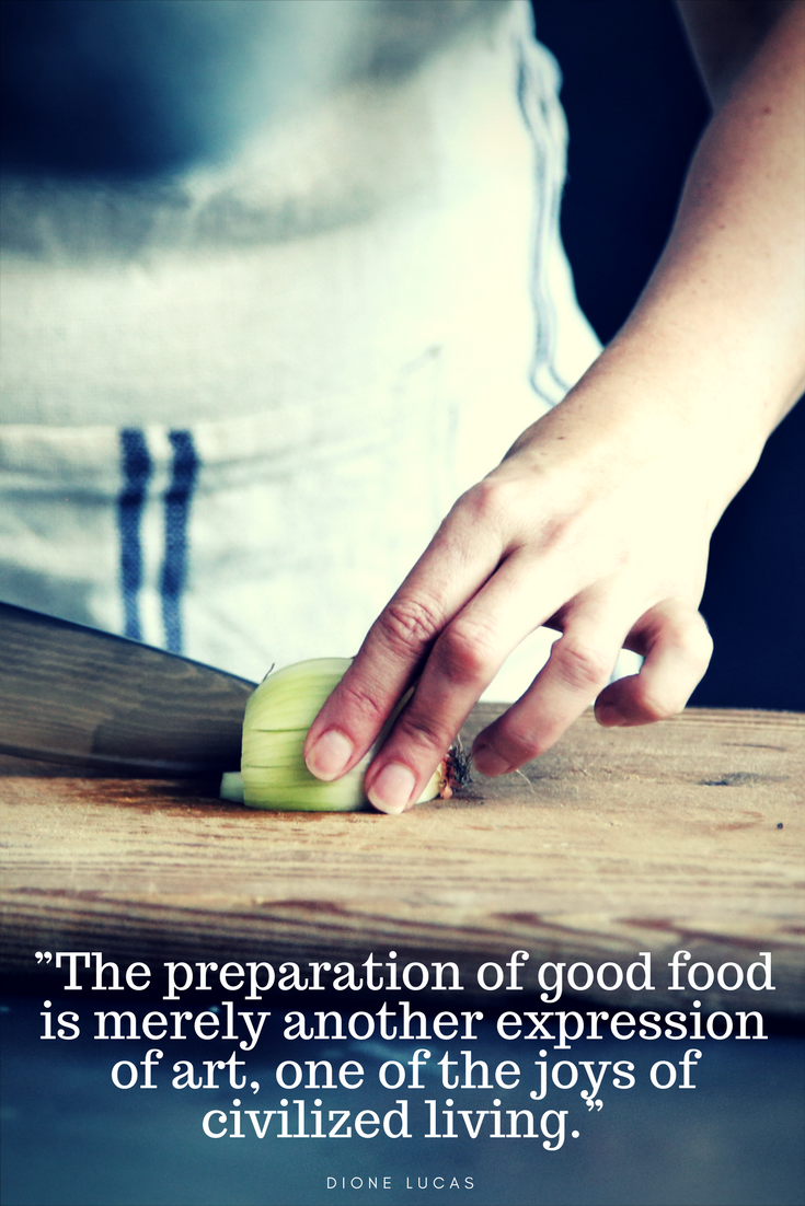 11 Quotes That People Who Love Cooking Will Totally Get is part of Creative cooking Quotes - Cooking is about so much more than putting food on the table  It can be a way to show love to others, or be a reflection of long held family traditions  It's a chance to learn about