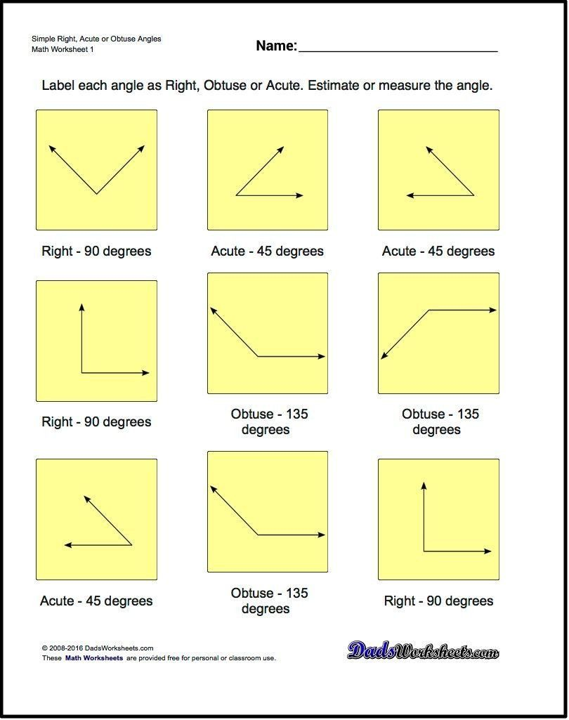 Find The Missing Angle Worksheet Geometry Worksheets The Basic Geometry Worksheets In This Geometry Worksheets Basic Geometry Angles Worksheet