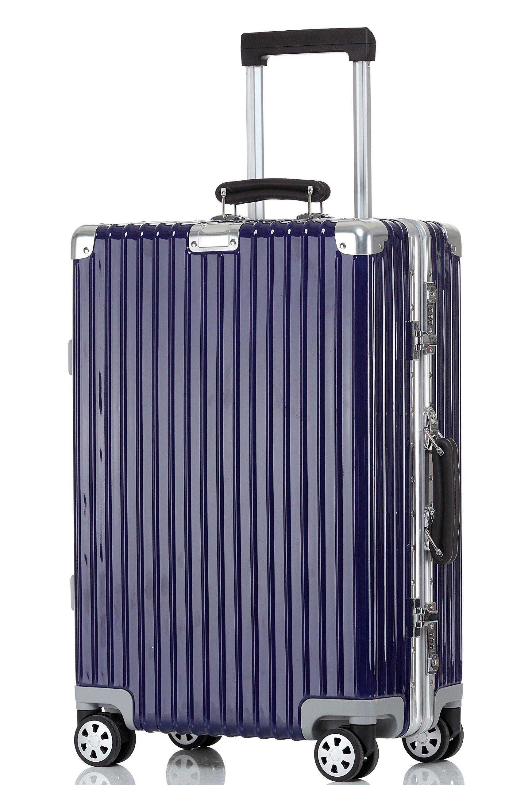 Choies Lightweight Luggage, Aluminum Frame Expandable Hardside ...