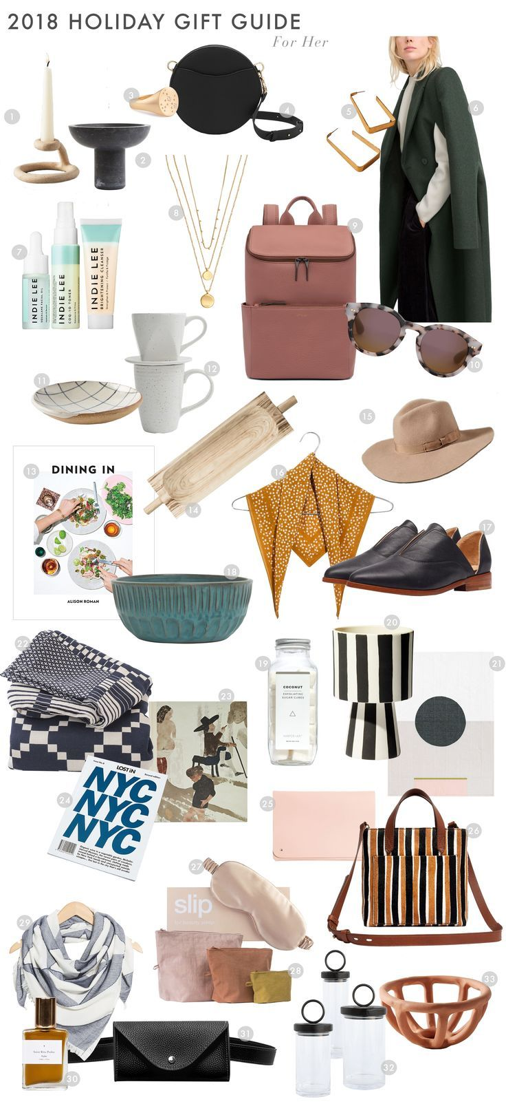 Christmas Gifts 2018 For Her.2018 Holiday Gift Guide 33 Of Our Favorite Gifts For Her