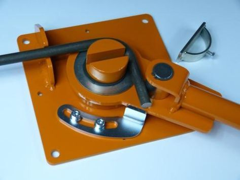 Detalles acerca de Herramienta de doblado, Bender, barras reforzadas, Barra Redonda 6 – 16mm, GR-4 más dobladores dentro!- mostrar título original