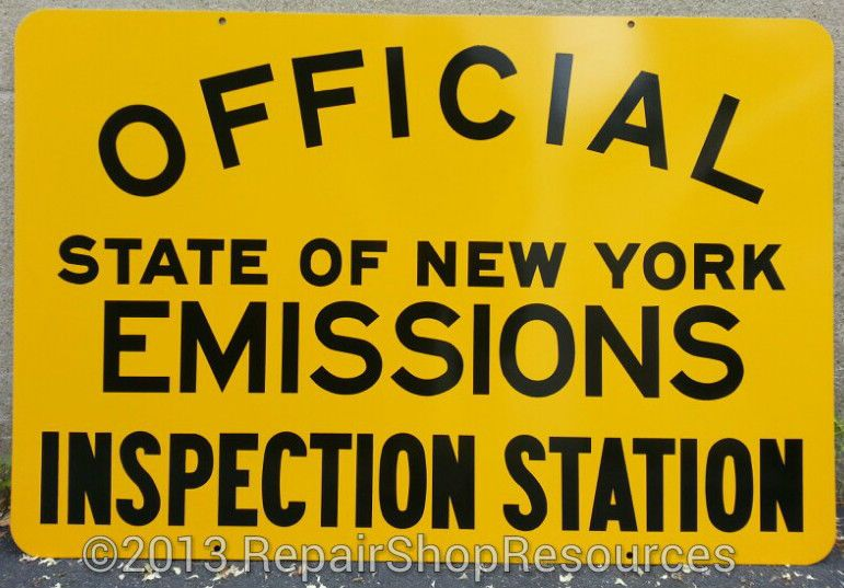 NEW YORK STATE DMV OFFICIAL EMISSIONS INSPECTION STATION